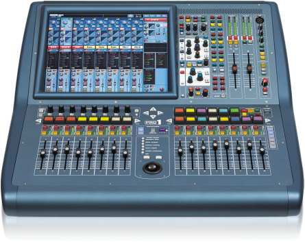 Midas Pro 1 digital mixing desk owned by Wow & Flutter Audio, a professional PA system hire and freelance sound engineering business in Oswestry, Shropshire providing full PA systems to hire for bands, festivals, weddings and party events